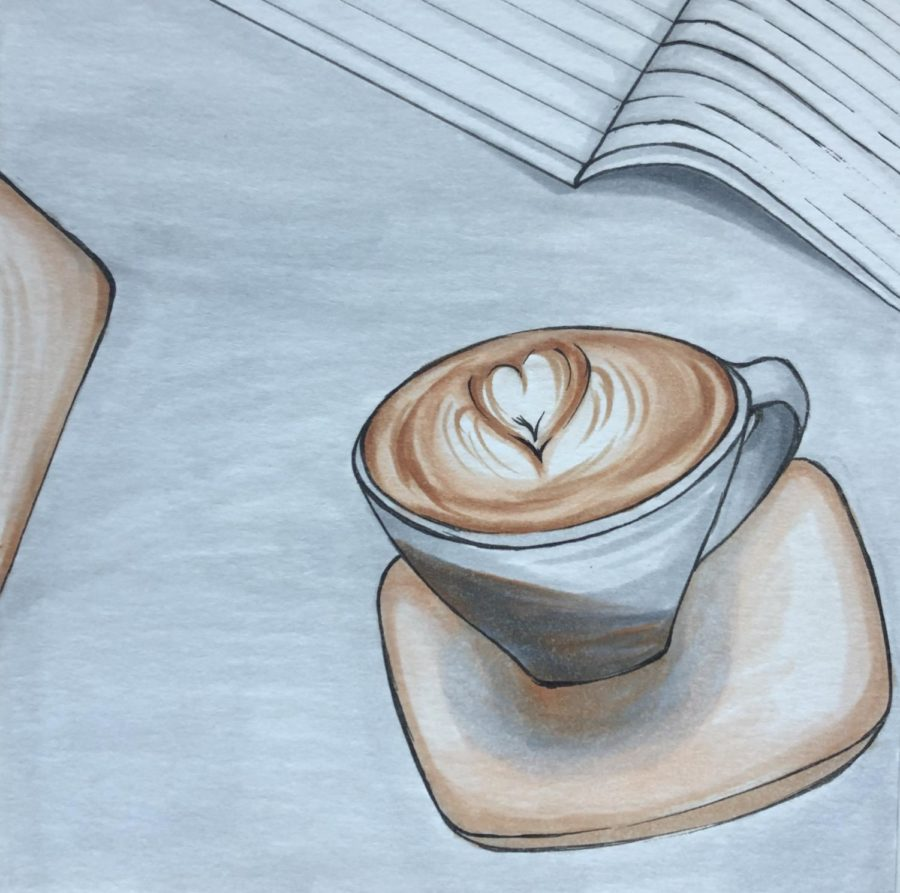 Coffee and Art: Sue's Gallery Cafe