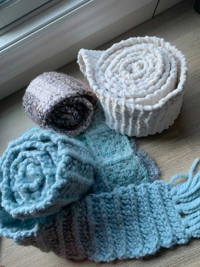 Calm Through Crocheting